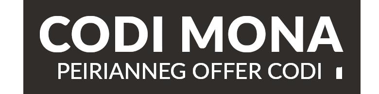 Codi Mona - Peirianneg Offer Codi
