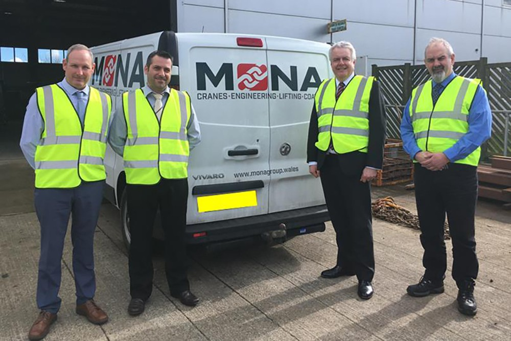 Anglesey's Mona Lifting Example of Engineering Excellence